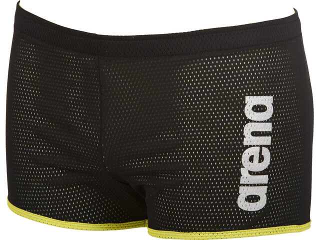 arena Square Cut Drag Suit Shorts Unisex black